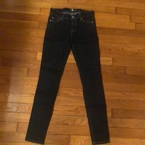 7 for all mankind skinny jeans - NWOT